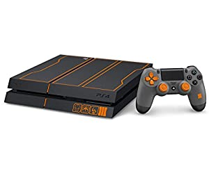 CloudSmart PS4 Designer Skin Decal for PlayStation 4 Console System and PS4 Wireless Dualshock Controller - Call of Duty: Black Ops 3 Limited Edition