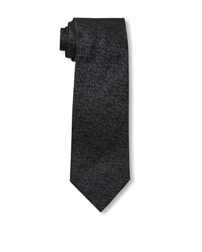 Givenchy Men's Abstract Tie, Black