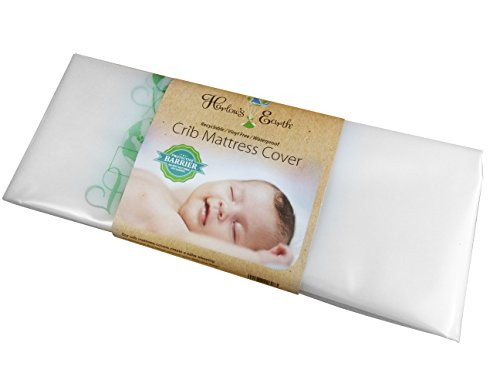 Harlow's Earth Standard Crib Size Crib Mattress Cover, Clear