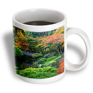 Danita Delimont - Chuck Haney - Japanese Gardens - Japanese Gardens In Autumn In Portland, Oregon, Usa - 15Oz Mug (Mug_190049_2)