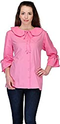 Belle Casual 3/4 Sleeve Solid Women's Top (BC 65_42)