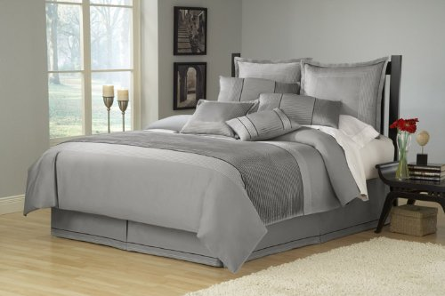 Ma Maison Skyline Full/Queen Duvet, Grey