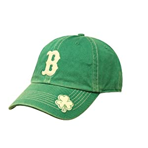 Boston Red Sox Logo Merchandise St Pattys Fatty Clean Up Cap
