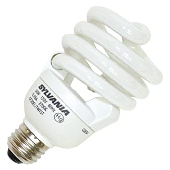 Sylvania 29792 - CF30EL/TWIST/RP Twist Medium Screw Base Compact Fluorescent Light Bulb
