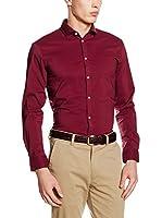 ESPRIT Camisa Hombre (Rojo)