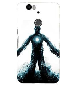 PRINTSHOPPII IRON MAN Back Case Cover for Motorola Google Nexus 6::Google Nexus 6