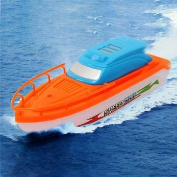 New Electric Speed Racing Boat Motor Speedboat Baby Bathe Bathtub Kids Game Toys Gift by Completestore