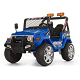 NEW! 12V BATTERY POWERED 2 SEATER KIDS CHILDRENS RIDE ON 4X4 TRUCK JEEP CAR