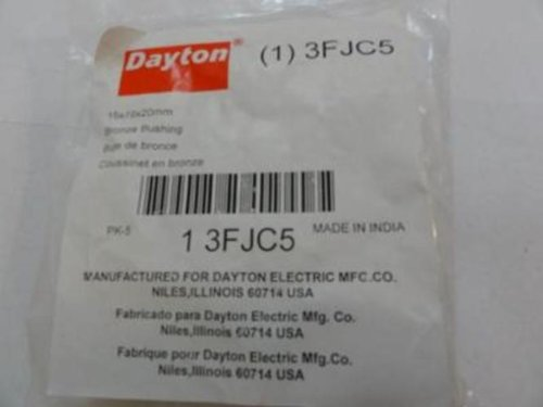 Dayton 3FJC5 PACK-5, Sleeve Bearing, 15mm ID, 19mm OD sale 2016