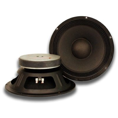 "Seismic Audio - Quake_10Pair_16Ohm - Pair Of 10"" Raw Woofers Speakers Drivers Pro Audio Pa Dj Replacement - 16 Ohms"