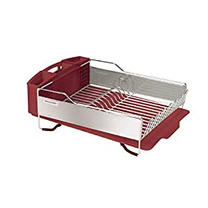 Kitchenaid dish drying rack kitchen home - Kitchenaid dish rack red ...