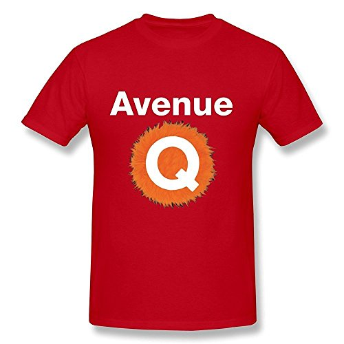 fengting-mens-avenue-q-logo-t-shirt-size-s-red