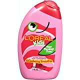 L'Oreal Paris Kids 2-in-1 Shampoo for Extra Softness, Strawberry Smoothie, 9-Fluid Ounce Body Care / Beauty Care / Bodycare / BeautyCare