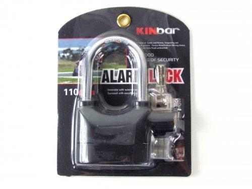Security Sicherheitsschloss mit 110 dB lautem Alarmsignal aus gehärtetem Stahl thumbnail