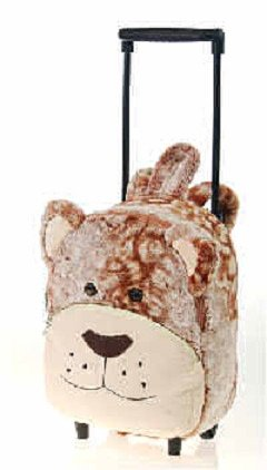 Brown Bear Trolley Backpack 11