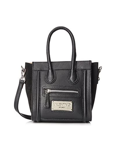 Valentino Bag by Mario Valentino Women's Leidy Cross-Body, Black, One Size