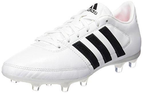 Adidas Gloro 16,1 Fg-Scarpe da calcio da competizione, unisex, da adulto, Bianco (Ftwr White/Core Black/Matte Silver), 45 1/3 EU