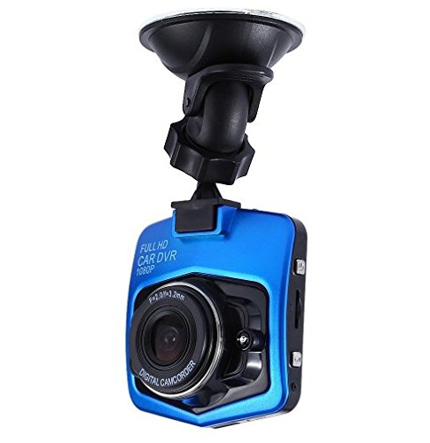 Blue 1080P Full HD Video Registrator Newest Mini Car DVR Camera GT300 Camcorder Parking Recorder G-sensor Night Vision Dash Cam (With 32G Sd Card Memory) (Ebay Items For Sale compare prices)