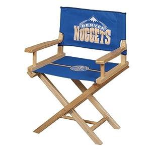 Guidecraft G12520 NBA Denver Nuggets Jr. Director's Chair