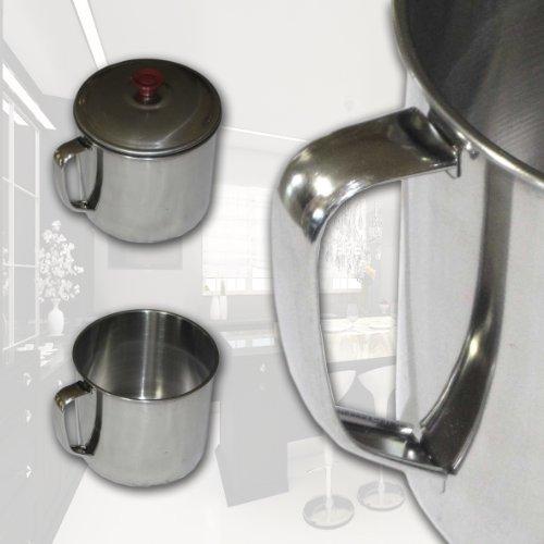 3 Pack Stainless Steel Coffee Soup Mug Tumbler Camping Mug Cup 32Oz