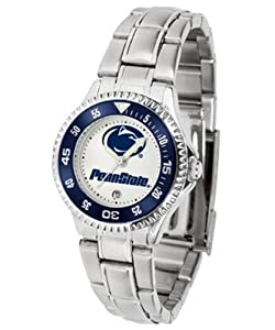 Penn State Nittany Lions Ladies Stainless Steel Watch by SunTime