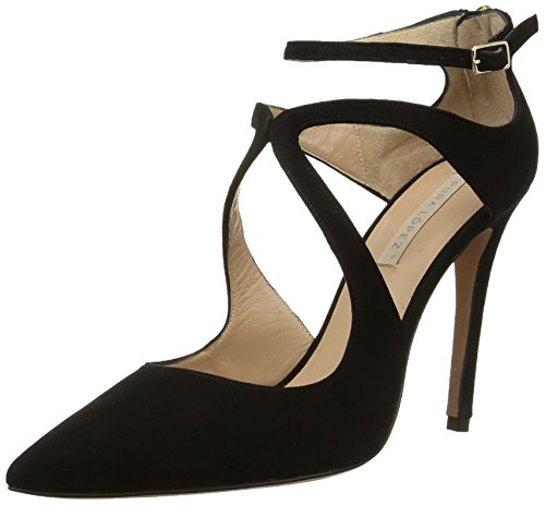 Pura Lopez  Ag101,  Scarpe stringate donna Nero Noir (Suede Negro) 36