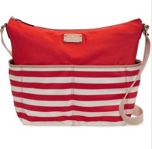Kate Spade New York Serena Baby Bag Collins Ave Striped, Soph /Cream front-120274