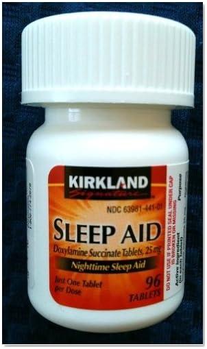 Kirkland signature nighttime sleep aid 96 tablets health and