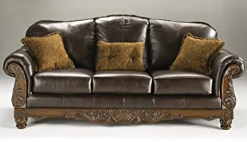 Famous Collection DarkBrown Sofa