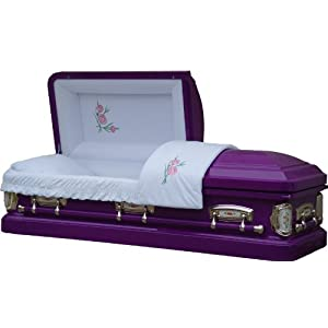 8387 - 18 Gauge Steel Casket
