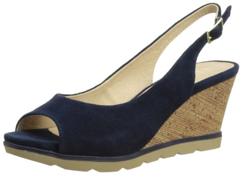 Lotus Womens Maron Slingback 20019 Navy 3 UK, 36 EU