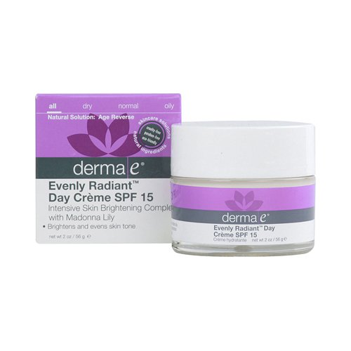 Derma E - Derma E Evenly Radiant Day Crème Spf 15 - 2 Oz