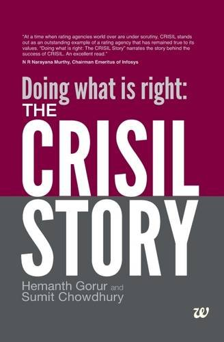 Doing what is right: The CRISIL Story