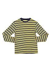 Poppers by Pantaloons Boy's Round Neck T-Shirt (205000005606015, Yellow, 7-8 Years)