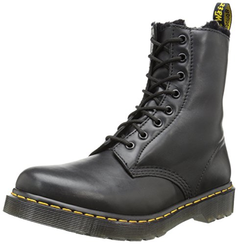Dr. Martens SERENA CARTAGENA - 8 EYE, Scarpe Brogue Stringate Unisex Adulto, Nero, 41