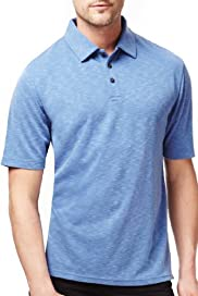 Blue Harbour Modal Blend Slub Polo Shirt [T28-6441B-S]