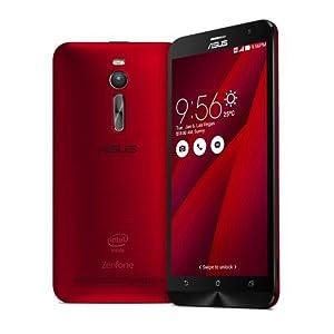ASUS ZenFone 2 ZE551ML 64bit Quad Core Intel Atom 5.5 (4GB+32GB, Red)