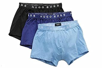 Hugo Boss Mens Perfect Cotton Trunk 3Pack Style: 50236732-465 Size: L