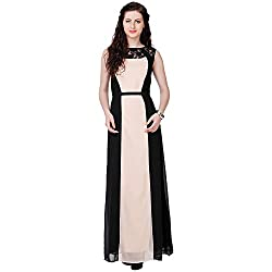 Eavan Women's Party Wear Sombre Polyester Dress