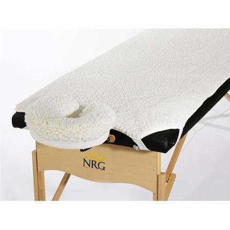 Nrg Fleece Massage Table Pad And Face Rest Cover Set front-740313