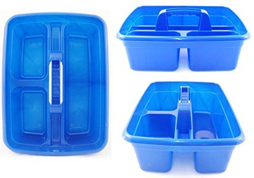 blue-plastic-cleaning-caddy-cleaners-carry-all-basket-tote-tray-by-the-dustpan-and-brush-store