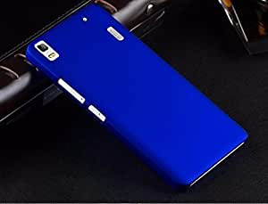 KraftLink High Quality Premium Rubberised Matte Finish Protective Shell Hard Back Case Cover For Samsung Z2 - Royal Blue