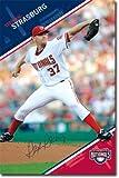 スティーブン・ストラスバーグ MLB ポスター
