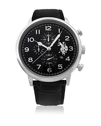 US Polo Association Reloj con movimiento Miyota Man USP4353BK 44 mm