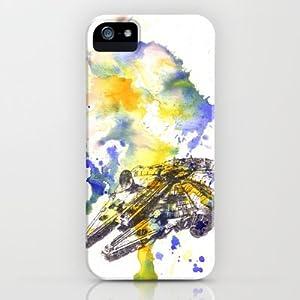 Society6/ソサエティシックス iphone5 ケース スターウォーズ Star_Wars_Millenium_Falcon