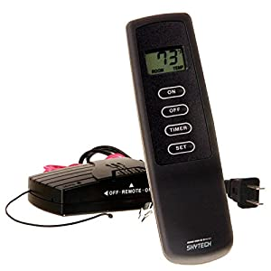 Skytech SKY-1410T/LCD-A 110v Fireplace Remote Control with Timer