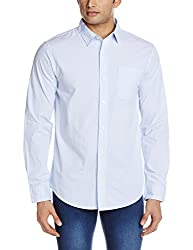 Fox Men's Casual Shirt (435664010038_435664_Small_White)