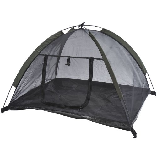 "Pawhut 35"" X 28"" Mesh Outdoor Camp Pop Up Pet / Dog Camping Tent front-715324"