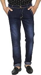 Spuro Men's Regular Fit Jeans_06_Blue_28