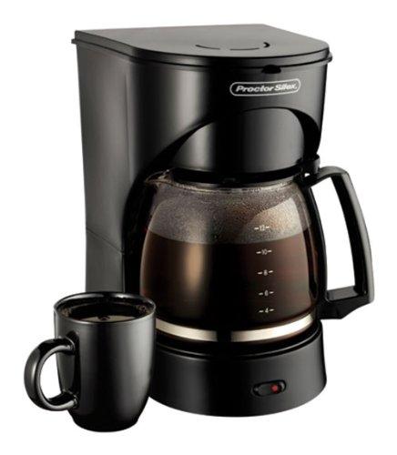 Proctor Silex Coffeemaker 12 Cup Black 900 W 43502